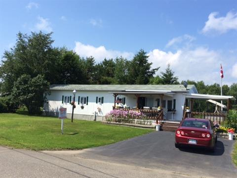 Mobile home for sale in Maria, Gaspésie/Îles-de-la-Madeleine, 635, Rue des Tournepierres, 20977679 - Centris