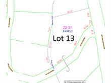 Lot for sale in Lantier, Laurentides, 13, Chemin de la Rivière, 12902229 - Centris