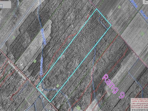 Terre à vendre à Notre-Dame-du-Bon-Conseil - Paroisse, Centre-du-Québec, 1464, 9e rg de Simpson, 24310084 - Centris
