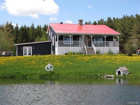 Fermette à vendre à Chartierville, Estrie, 132A, Route  Saint-Hyacinthe, 13679104 - Centris