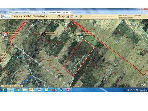 Terre à vendre à Sainte-Hélène-de-Chester, Centre-du-Québec, 3, 2e Rang, 26165117 - Centris