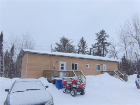 Mobile home for sale in Guérin, Abitibi-Témiscamingue, 526 - 528, Rue du Parc, 14963665 - Centris