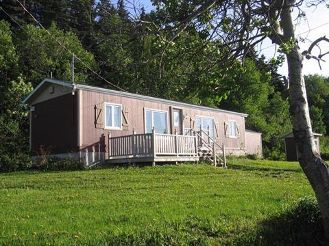 Mobile home for sale in Saint-Maxime-du-Mont-Louis, Gaspésie/Îles-de-la-Madeleine, 5, Chemin des Côtes, 22522751 - Centris