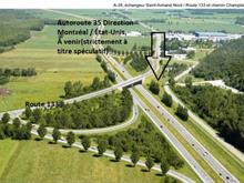 Lot for sale in Saint-Armand, Montérégie, Route  133, 20536441 - Centris