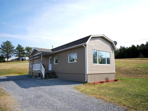 Mobile home for sale in Pohénégamook, Bas-Saint-Laurent, 606, Rang  Ignace-Nadeau, 22016421 - Centris