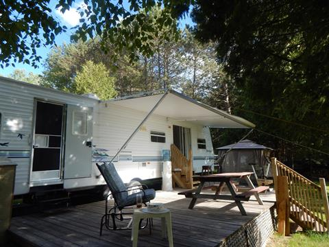 Mobile home for sale in La Minerve, Laurentides, 8, Rue  Sainte-Marie, 26965977 - Centris