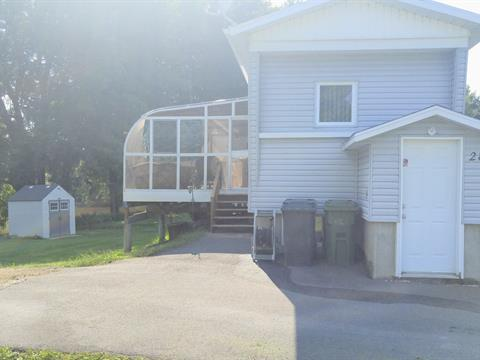 Mobile home for sale in Pierreville, Centre-du-Québec, 28, Chemin  Niquet, 25374046 - Centris