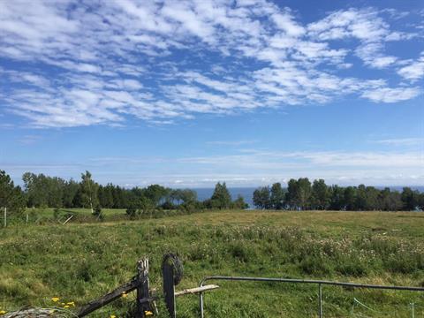 Terrain à vendre à Hope, Gaspésie/Îles-de-la-Madeleine, Route  132, 16552906 - Centris