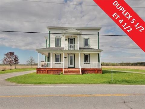Duplex à vendre à Saint-Liboire, Montérégie, 94, Rang  Saint-Georges, 23933755 - Centris