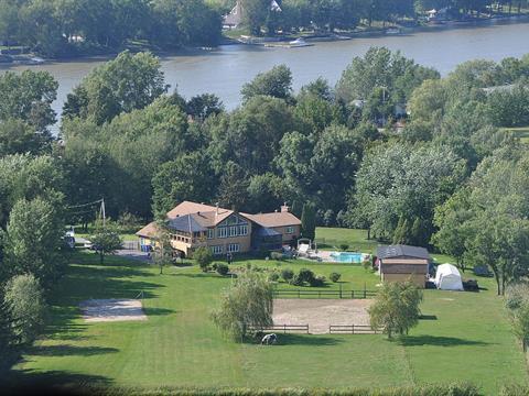 Fermette à vendre à Mont-Saint-Hilaire, Montérégie, 1866A, Chemin des Patriotes Nord, 25481693 - Centris