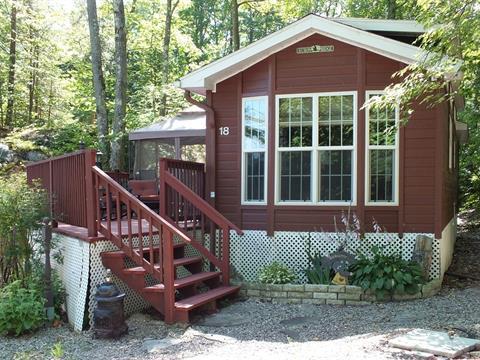 Maison mobile à vendre à Lac-Simon, Outaouais, 1084, Chemin du Tour-du-Lac, app. 18, 21553601 - Centris