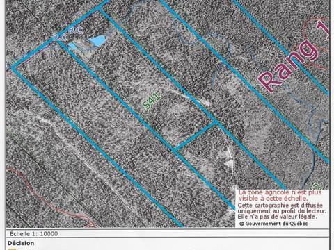 Terre à vendre à Hampden, Estrie, Route  214 Est, 19203354 - Centris