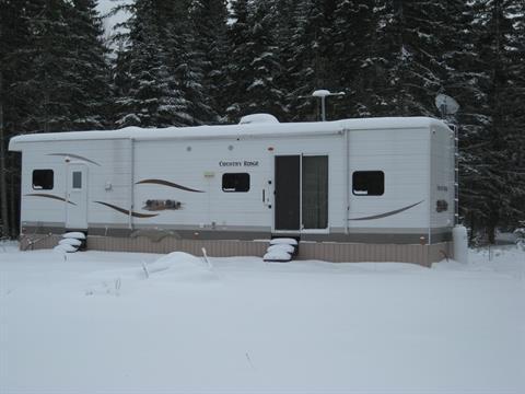 Mobile home for sale in Saint-Marc-de-Figuery, Abitibi-Témiscamingue, 52, Rue du Lac, 25563078 - Centris