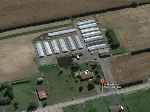 Farm for sale in Saint-Urbain-Premier, Montérégie, 19, Montée de la Rivière-des-Fèves, 15223243 - Centris