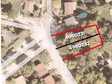 Terrain à vendre à Pierrefonds-Roxboro (Montréal), Montréal (Île), Chemin de la Rive-Boisée, 25278307 - Centris