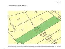 Terrain à vendre à Saint-Gabriel-de-Valcartier, Capitale-Nationale, Rue de la Falaise, 10884774 - Centris