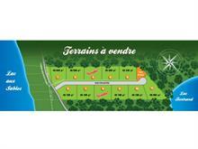 Lot for sale in Lac-aux-Sables, Mauricie, Chemin des Bois-Francs, 13534394 - Centris