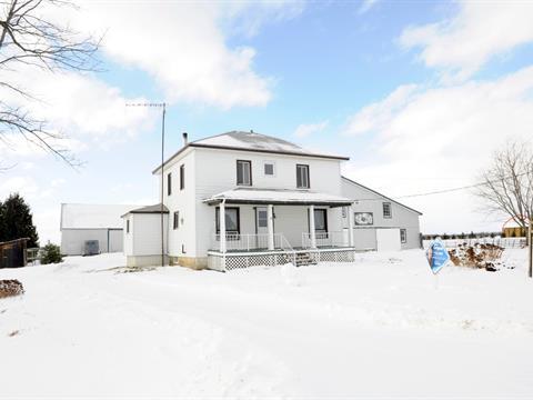 Fermette à vendre à Saint-Cyprien-de-Napierville, Montérégie, 39, Rang  Double, 9136235 - Centris
