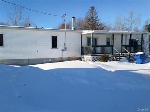 Maison mobile à vendre à Saint-Célestin - Municipalité, Centre-du-Québec, 1095 - 1105, Route  161, 16579215 - Centris