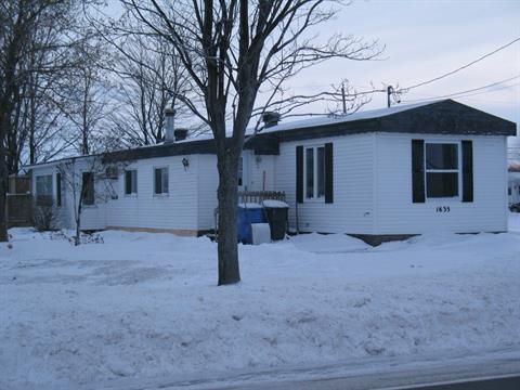 Maison mobile à vendre à Nicolet, Centre-du-Québec, 1635, Route du Port, 9440428 - Centris