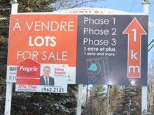 Terrain à vendre à Mayo, Outaouais, Chemin  Cameron, 8178222 - Centris