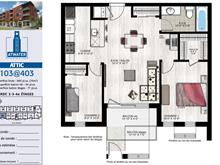 Condo / Apartment for rent in Le Sud-Ouest (Montréal), Montréal (Island), 219, Rue  Maria, apt. 403, 19508218 - Centris
