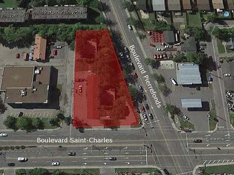 Terrain à vendre à Pierrefonds-Roxboro (Montréal), Montréal (Île), 4924, boulevard  Saint-Charles, 17650959 - Centris