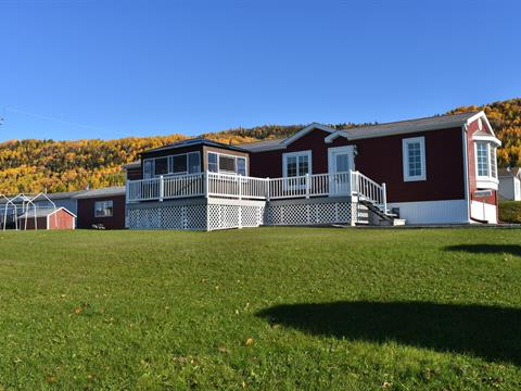 Mobile home for sale in Lac-au-Saumon, Bas-Saint-Laurent, 5, Rue des Frênes, 20528844 - Centris