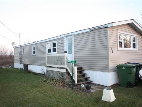 Maison mobile à vendre à Lacolle, Montérégie, 14, Rue  Landry, 12890946 - Centris