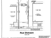 Terrain à vendre à Mercier/Hochelaga-Maisonneuve (Montréal), Montréal (Île), 4525, Rue  Dickson, 16777101 - Centris