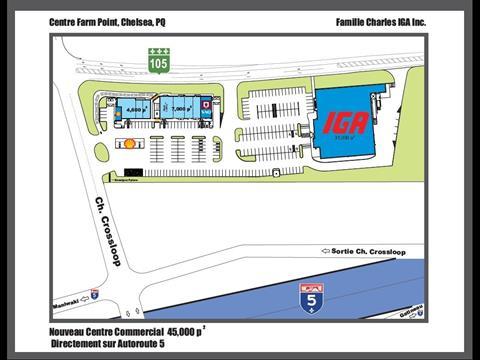 Bâtisse commerciale à louer à Chelsea, Outaouais, 1699, Route  105, 20211885 - Centris