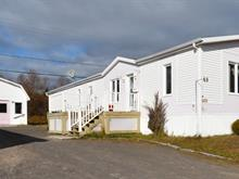 Mobile home for sale in Port-Cartier, Côte-Nord, 48, Rue  Simard, 16580706 - Centris