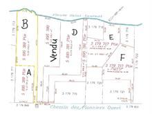 Lot for sale in L'Islet, Chaudière-Appalaches, Chemin des Pionniers Ouest, 10287121 - Centris