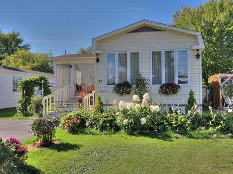 Mobile home for sale in Saint-Charles-sur-Richelieu, Montérégie, 65, Chemin des Patriotes, apt. 37, 9197297 - Centris
