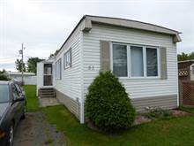 Mobile home for sale in Drummondville, Centre-du-Québec, 51, Place  Bonneville, 18708714 - Centris