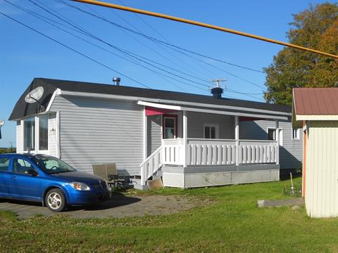 Mobile home for sale in L'Islet, Chaudière-Appalaches, 104, 4e Rue, 28056705 - Centris