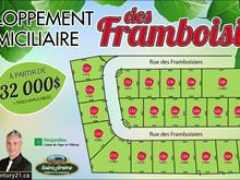 Lot for sale in Saint-Arsène, Bas-Saint-Laurent, 105, Rue des Framboisiers, 14535332 - Centris