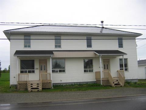 Duplex for sale in Saint-Honoré-de-Témiscouata, Bas-Saint-Laurent, 134 - 134A, Rue  Principale, 22101542 - Centris