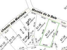 Lot for sale in Lantier, Laurentides, Montée de la Baie, 20209936 - Centris