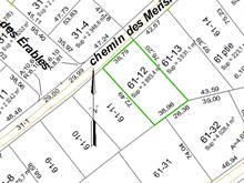 Terrain à vendre à Lantier, Laurentides, Chemin des Merisiers, 27920111 - Centris