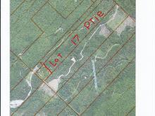 Terre à vendre à Sainte-Perpétue, Chaudière-Appalaches, Rang  Taché Est, 21030456 - Centris