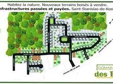 Lot for sale in Saint-Stanislas-de-Kostka, Montérégie, Rue des Cygnes, 11642769 - Centris