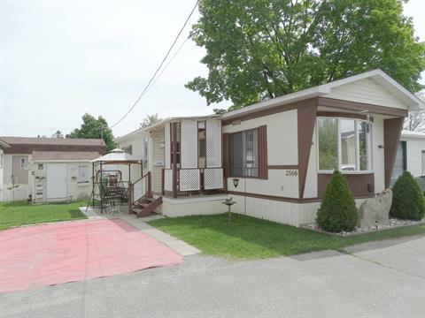 Mobile home for sale in Jacques-Cartier (Sherbrooke), Estrie, 2566, Rue  Hertel, 14422064 - Centris