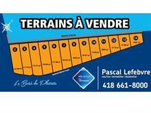 Terrain à vendre à La Malbaie, Capitale-Nationale, Chemin  William-Tremblay, 20807983 - Centris