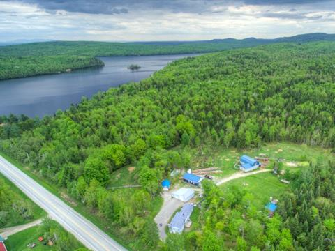 Hobby farm for sale in Saint-Jacques-le-Majeur-de-Wolfestown, Chaudière-Appalaches, 531, Route  263, 23322196 - Centris