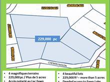 Terrain à vendre à Harrington, Laurentides, Chemin  Nason, 14028550 - Centris