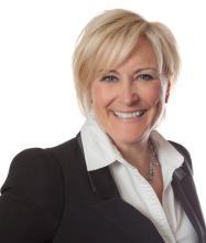 Hélène Bergevin, Courtier immobilier