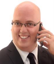 Simon Dufour, Courtier immobilier