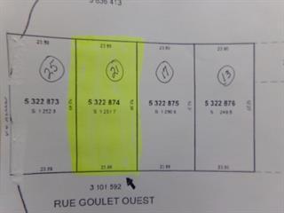Lot for sale in Lorrainville, Abitibi-Témiscamingue, 21, Rue  Goulet Ouest, 16396707 - Centris.ca