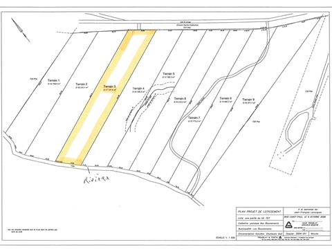 Lot for sale in Les Éboulements, Capitale-Nationale, 3003, Rang  Sainte-Catherine, 8673074 - Centris.ca